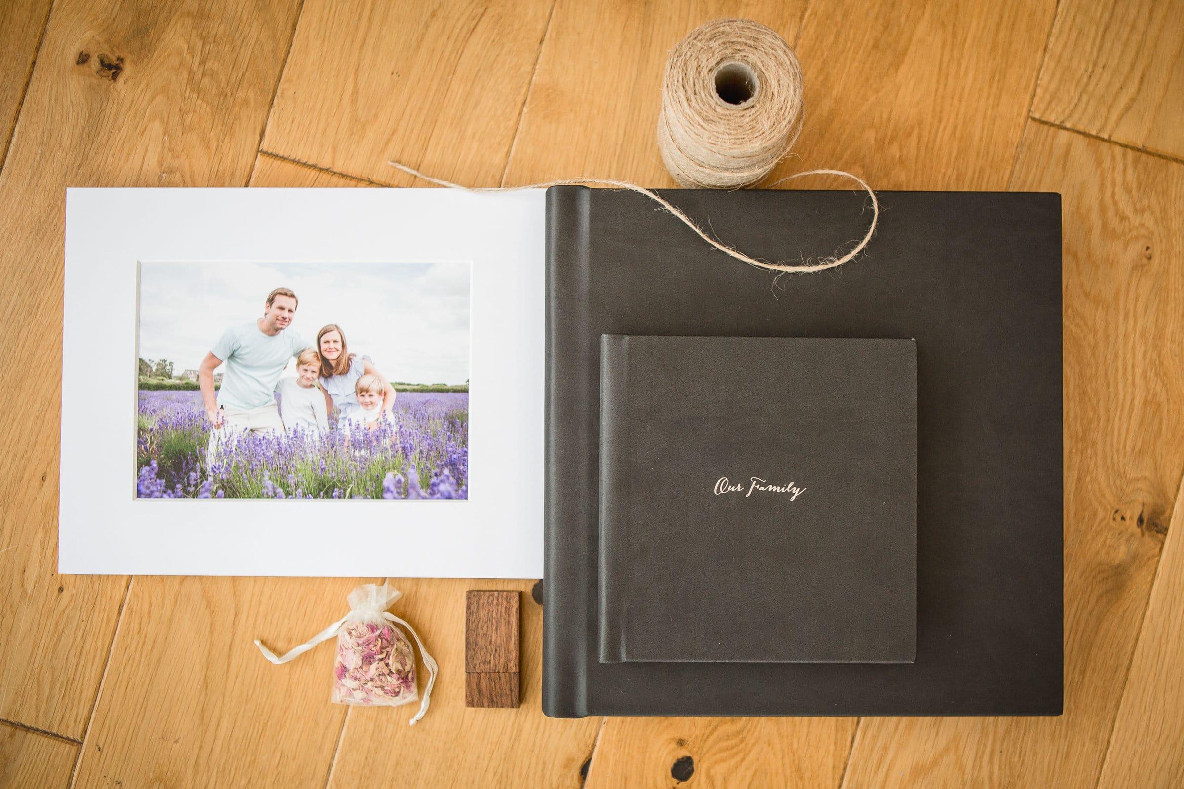 family photographer bath booklet