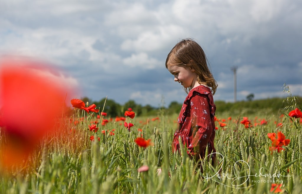 **POPPY FIELDS MINI SESSIONS** (socially distanced)