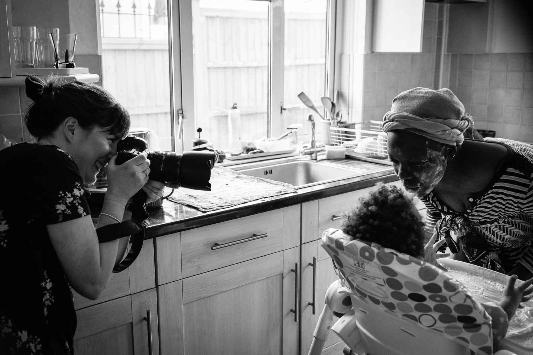 Rose Dedman behind the scenes - Family Photographer Bath